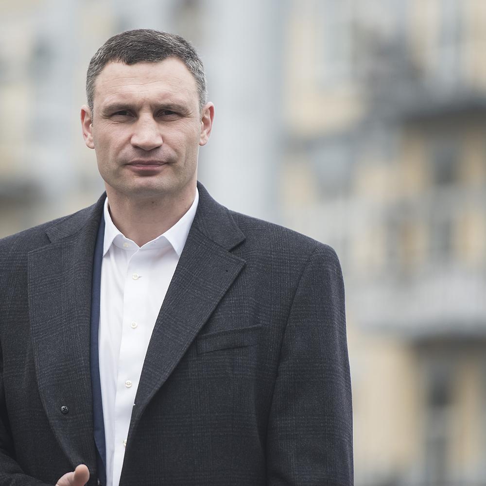 Віталій Кличко: «На початку травня ми повністю відкриємо пішохідну частину Поштової площі після реконструкції, а 20 травня відкриємо оновлений Київський велотрек»
