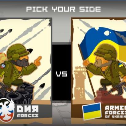 У мережі набирає популярність комп'ютерна гра про війну на Донбасі (фото, відео)
