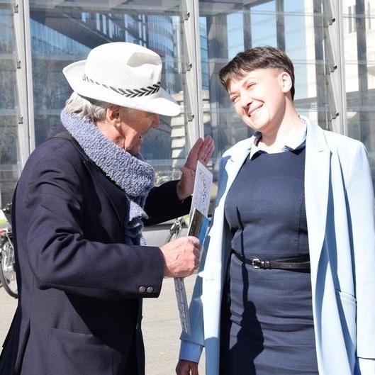 Депутат Савченко заселилась в 5-ти зірковий готель в Берліні (фото)