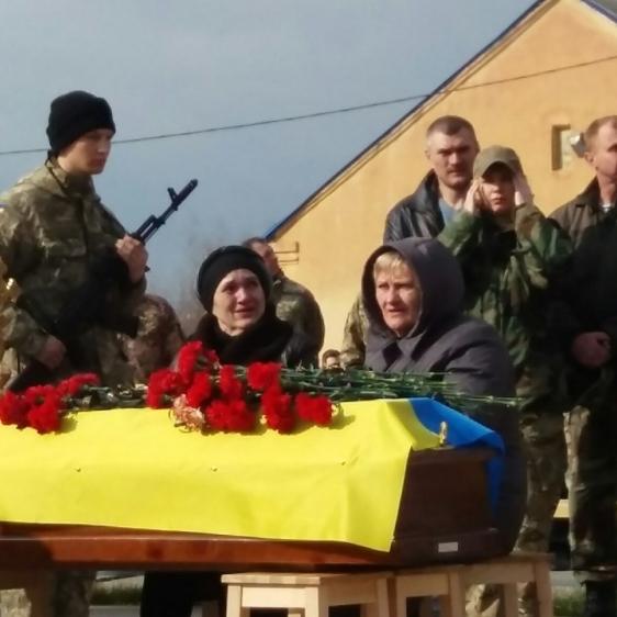 У Полтаві попрощались із загиблим екіпажем Мі-210 (фото, відео)