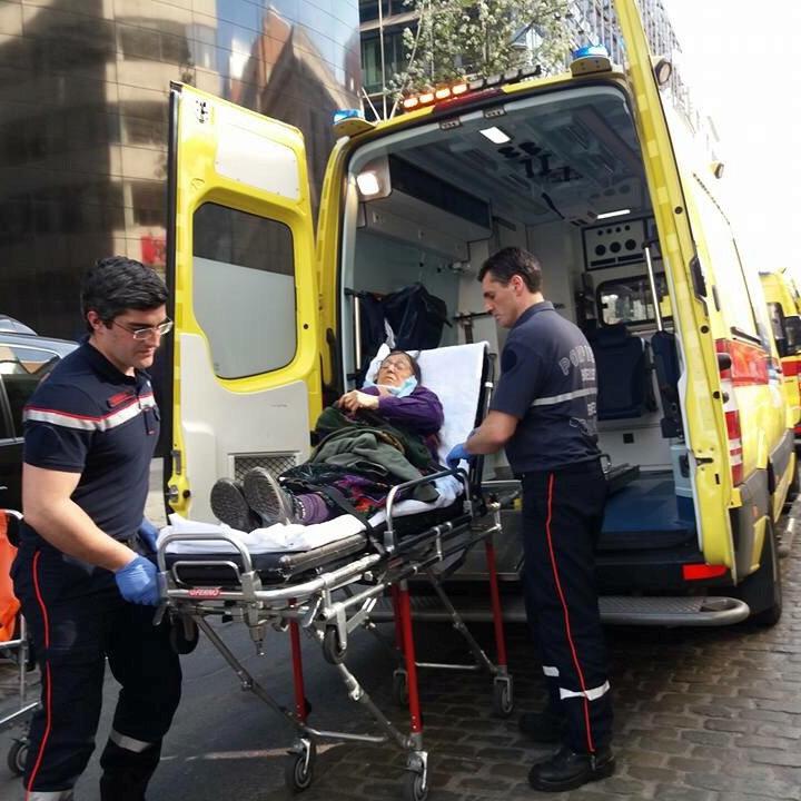 В Брюсселі побились з ножами прихильники та противники Ердогана, є постраждалі