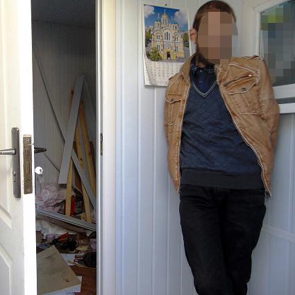Киянин затримав шахрая-касира, який хотів втекти з псевдообмінника із 16 тис. дол
