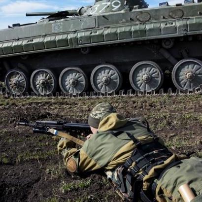 У мережі показали, як українські військові тренуються на Донбасі  (відео)