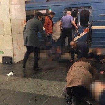 Російська Генпрокуратура назвала терактом вибухи в метро Петербурга