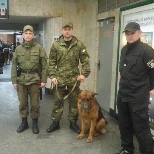 В київському метро посилили заходи безпеки у зв'язку із терактом у Санкт-Петербурзі (фото)