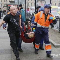 Теракт у Петербурзі здійснив смертник, його особу встановили – ЗМІ