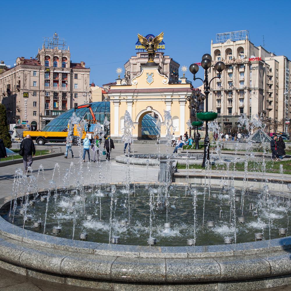 Пантелеєв: Фонтан на Майдані Незалежності, що не працював три роки, відремонтують до 1 травня (відео)
