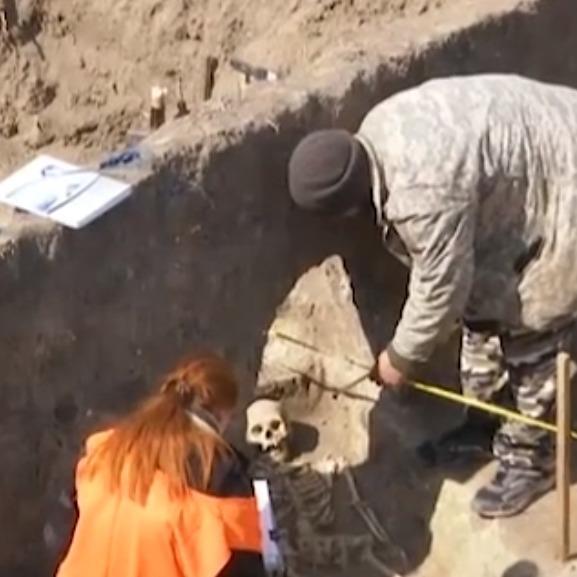 На Вінничині екскаватор ледь не знищив розкопки древньої цивілізації (відео)