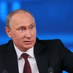 У Росії визнали екстремістським знімок Путіна з макіяжем (фото)