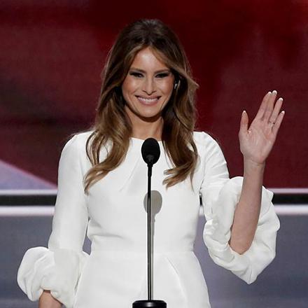 Меланія Трамп у яскравому вбранні затьмарила королеву Йорданії (фото)