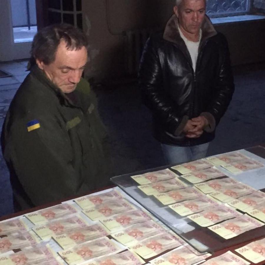 Доброволець батальйону «Донбас» затриманий на спробі дати хабар військовому прокурору