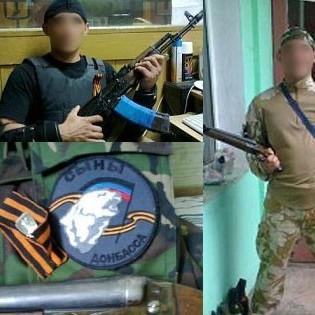 Дівчина-офіцер затримала бойовика-дезертира у Маріуполі