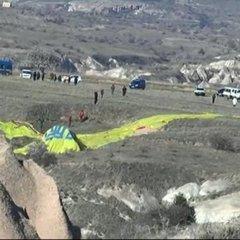 В Туреччині впала повітряна куля з туристами: є жертви та поранені