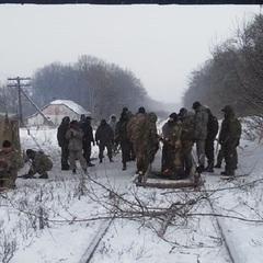 На Луганщині поліція знесла редут активістів