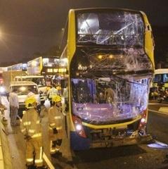 Жахливе ДТП в Гонконгу: мінімум 70 постраждалих