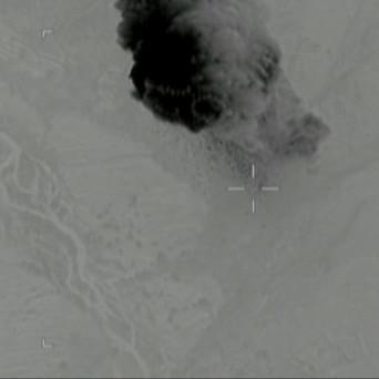 З'явилося відео із моментом скидання «матері усіх бомб» в Афганістані