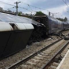 В Австрії зіткнулись два поїзда (фото, відео)