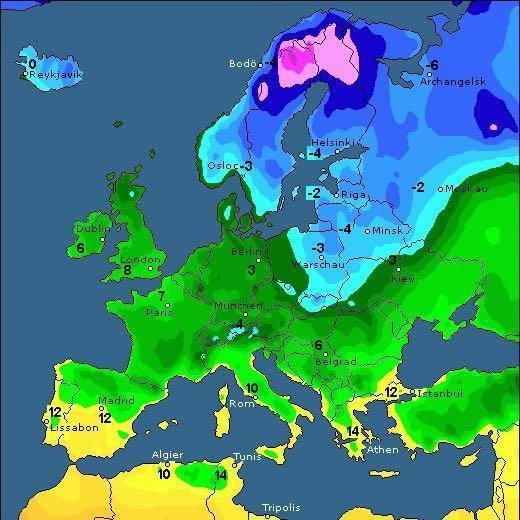 В Україну на тиждень повернеться зимова погода