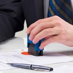 Печатки на документах стануть не обов'язковими з 19 липня