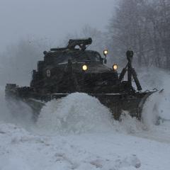 Через снігопад обмежено рух на Одеській трасі