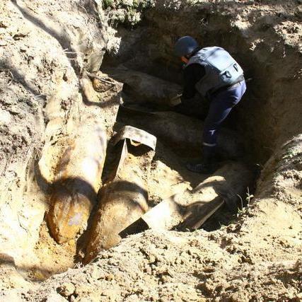 На Вінничині знешкоджено п'ять 500-кілограмових бомб (фото, відео)