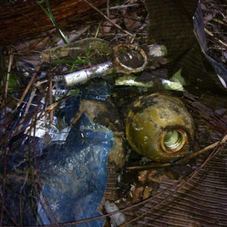 У Краматорську біля школи дитина знайшла 14 гранат (фото)
