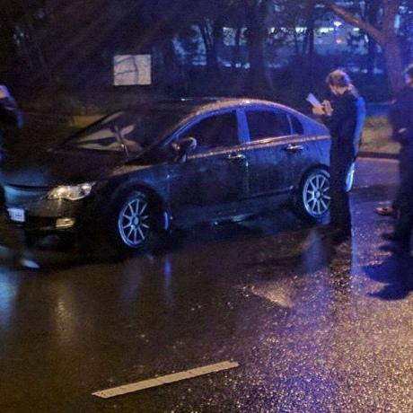 В Одесі військовий прокурор попався п'яним за кермом