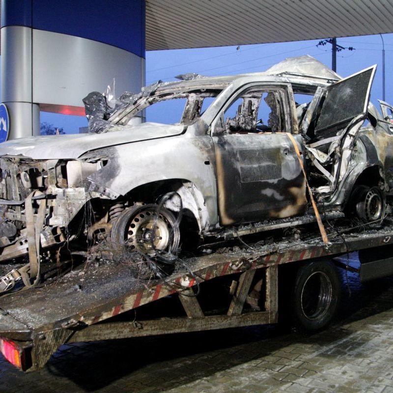 «ЛНР» передала українській стороні тіло загиблого під час вибуху авто спостерігача ОБСЄ