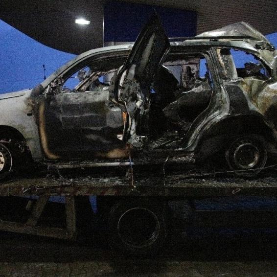 У «ЛНР» заявили, що автомобіль ОБСЄ підірвався на дорозі, по якій проїжджав незадовго до цього