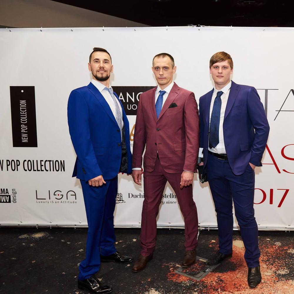 Герої проекту «Переможці» разом із учасниками АТО прийняли участь у показі італійської моди (фото, відео)