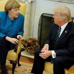 Трамп і Меркель в телефонній розмові обговорили ситуацію на Донбасі