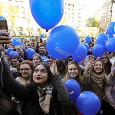 У Києві відбулась посвята у волонтери Євробачення. Фоторепортаж