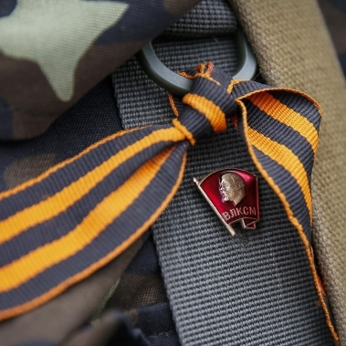 В Москві пройдуть рейди проти «неетичного використання» георгіївської стрічки