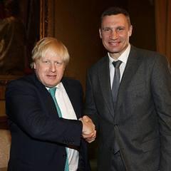 Віталій Кличко зустрівся в Лондоні з міністром закордонних справ Великобританії Борисом Джонсоном