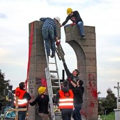 У Польщі заявили, що демонтаж пам'ятника УПА біля Перемишля був законним