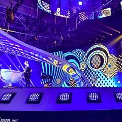 Гройсман перевірив готовність сцени до Євробачення. Фоторепортаж