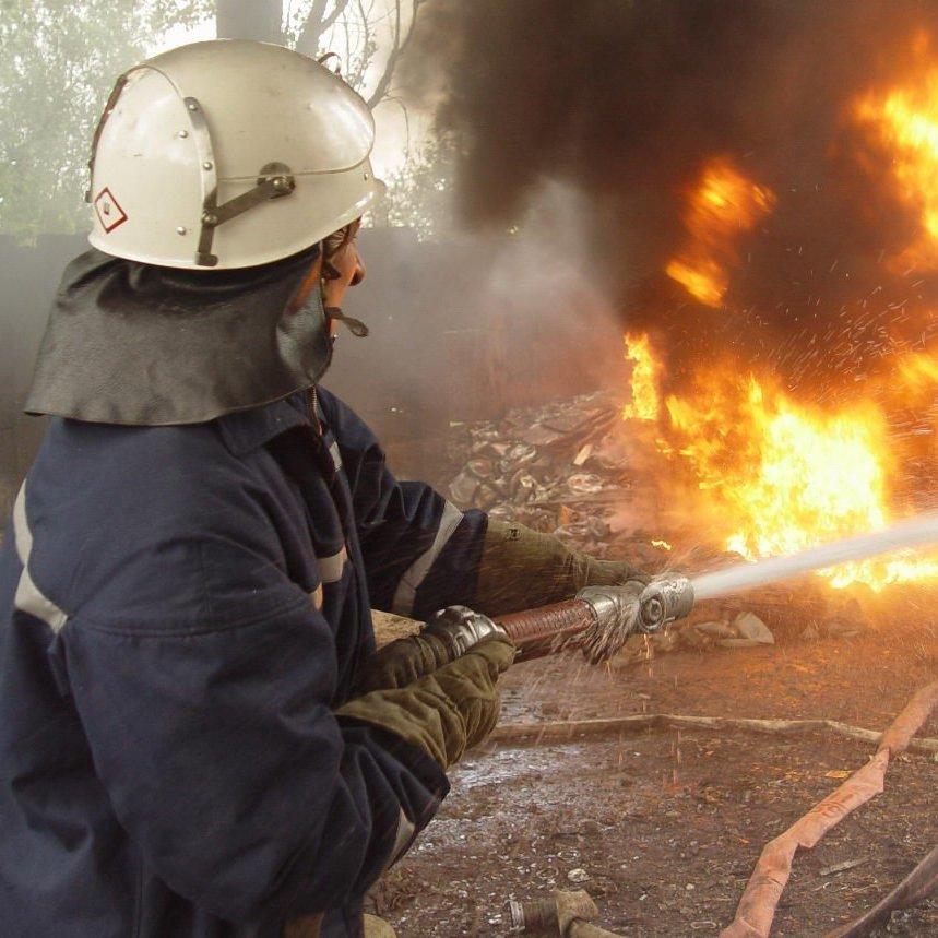 В Росії до тла вигоріло село