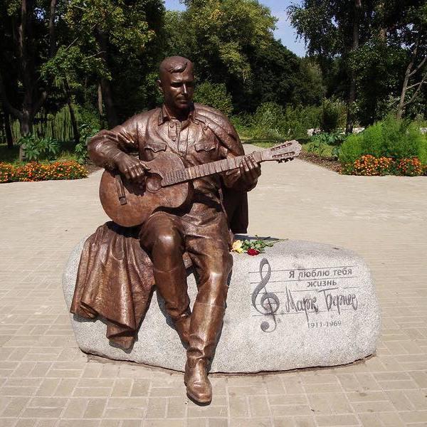 У Ніжині викрали пам'ятник Марку Бернесу (фото)