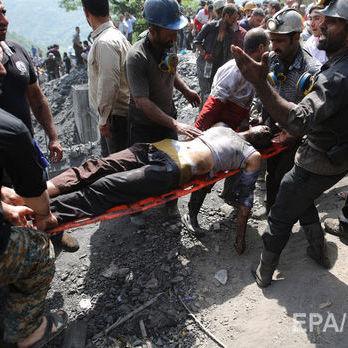 Влада Ірану заявила про загибель 21 гірника внаслідок обвалу на шахті