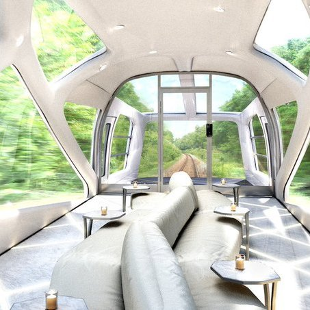 В Японії запустили потяг-люкс з двоповерховими купе і ванними кімнатами (фото)