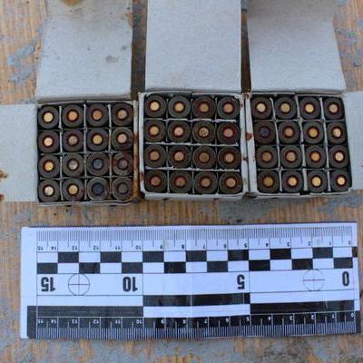 Житель Одещини переховував арсенал боєприпасів на кладовищі (фото)