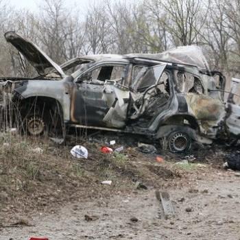 З'явилося відео з моментом підриву автомобіля місії ОБСЄ на Донбасі