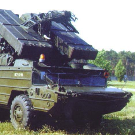 Окупанти доставили на територію Донбасу зенітно-ракетний комплекс «Оса»