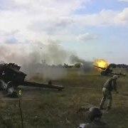 У зоні АТО відбулися навчання артилеристів
