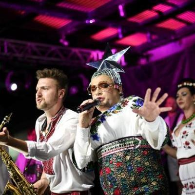 Вєрка Сердючка повернулась на українську сцену після довготривалої відпустки і виступила на вечірці до Євробачення 2017 (фото)