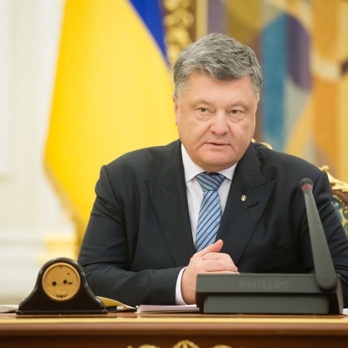 Порошенко анонсував конкурс проекту Меморіалу українським воякам АТО