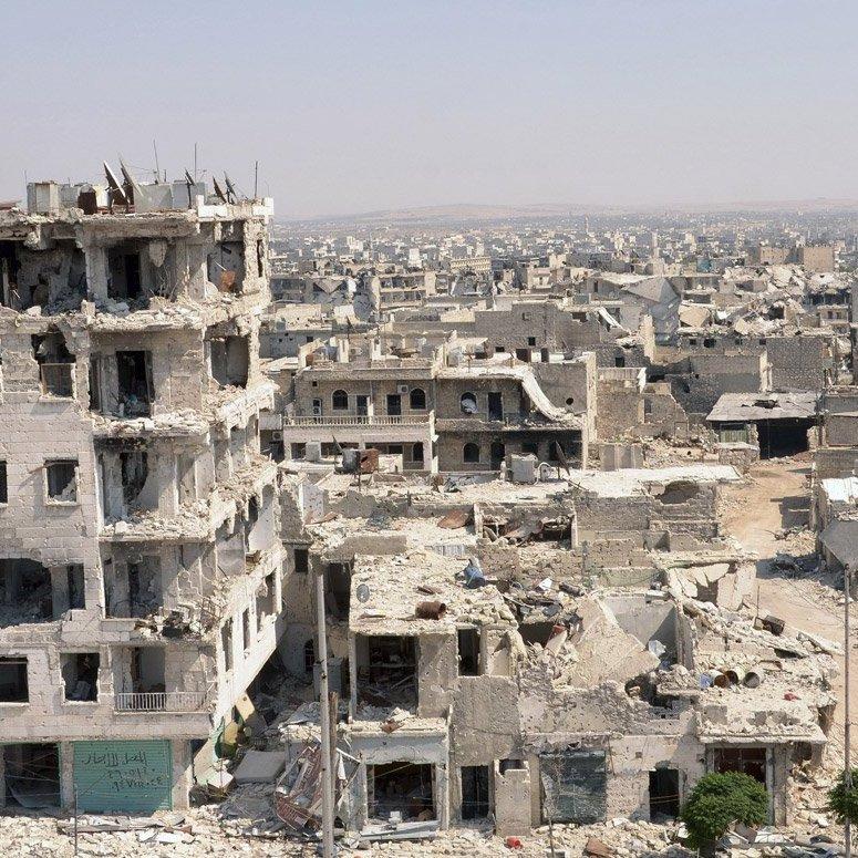 В Алеппо роздали георгіївські стрічки