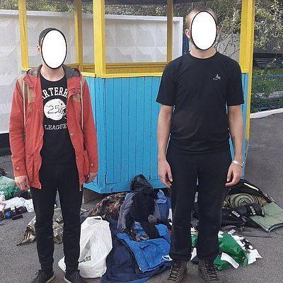 У Чорнобилі затримано дві групи сталкерів (фото)