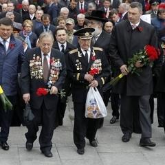 Віталій Кличко привітав ветеранів і поспілкувався з ними у неформальній атмосфері