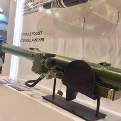 Україна вперше представила переносний реактивний гранатомет на виставці у Туреччині (фото)